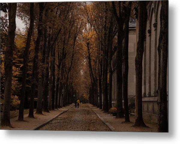 Autumn In Paris 1 Metal Print