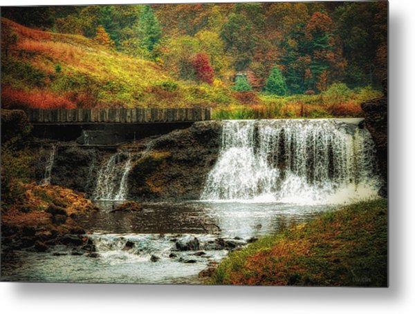 Autumn In The Blue Ridge Mountains Metal Print