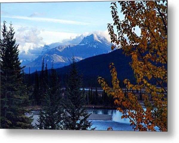 Autumn In The Mountains Metal Print
