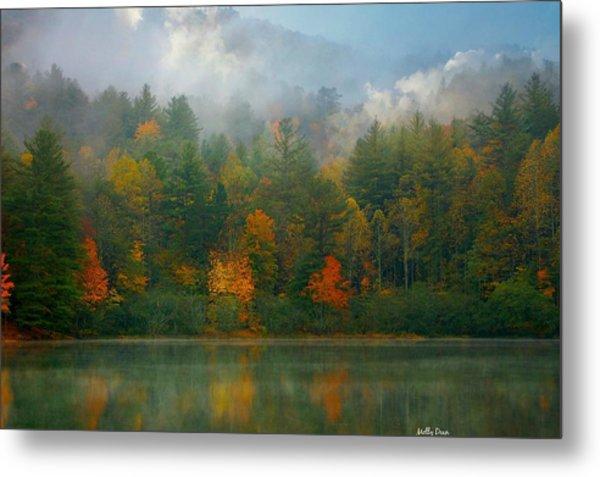 Autumn Lake Metal Print by Molly Dean
