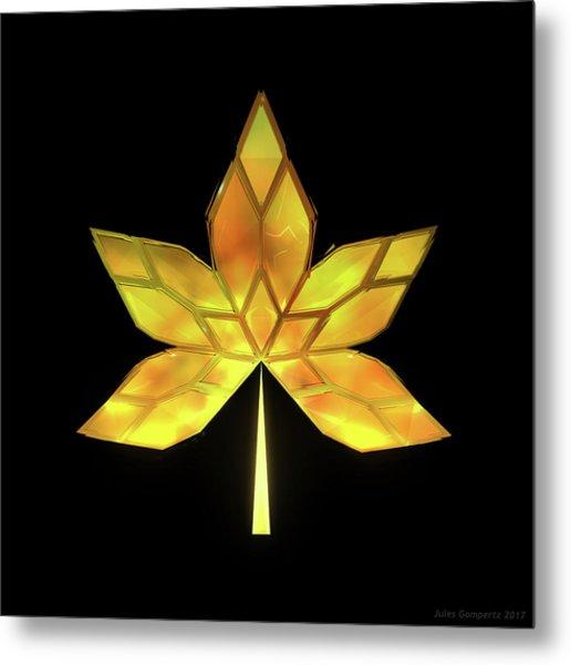 Autumn Leaves - Frame 070 Metal Print