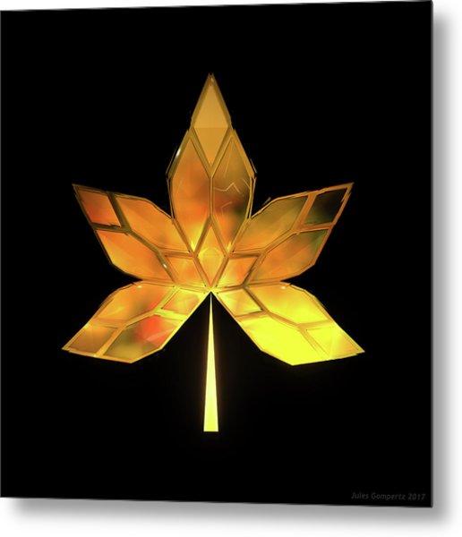 Autumn Leaves - Frame 200 Metal Print
