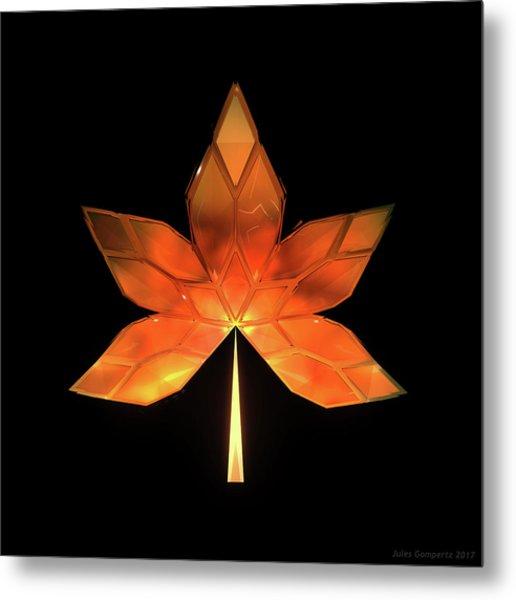 Autumn Leaves - Frame 260 Metal Print
