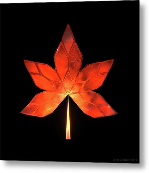 Autumn Leaves - Frame 320 Metal Print