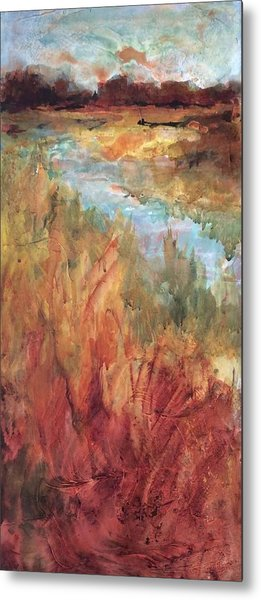 Autumn Marsh Metal Print