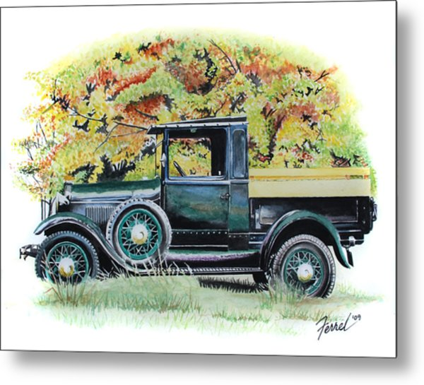 Autumn Of Life Metal Print by Ferrel Cordle