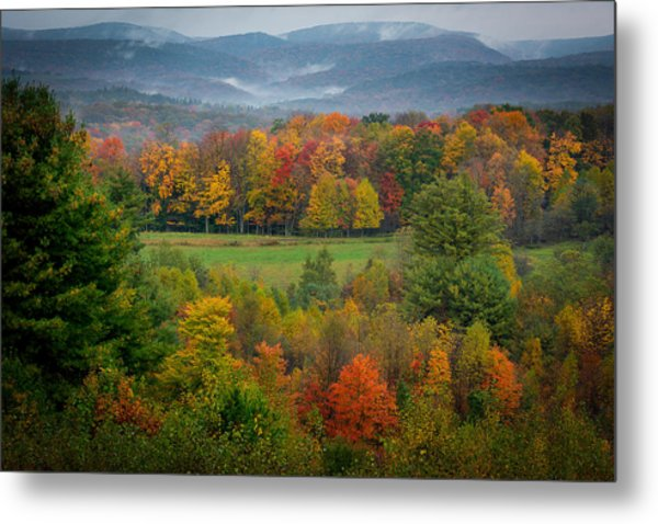 Autumn On Winslow Hill Metal Print