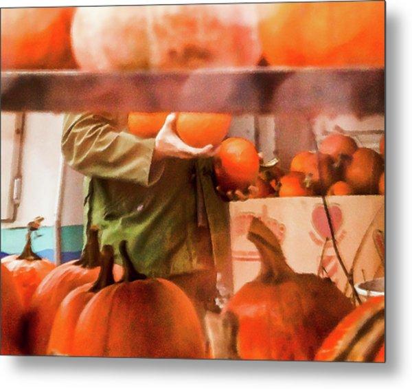 Autumn Plenty -  Metal Print