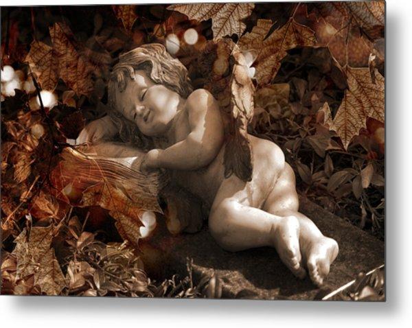 Autumn Sleep Metal Print