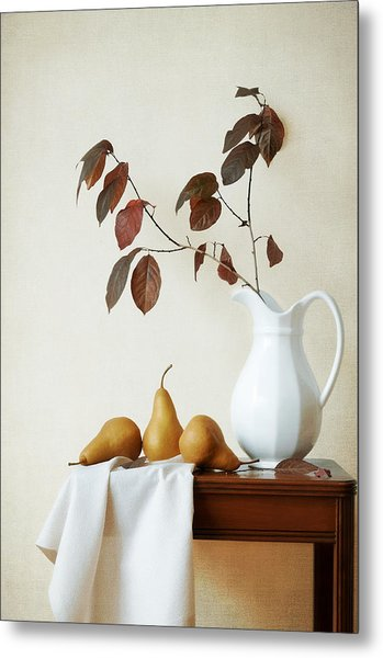 Autumn Tableau Metal Print