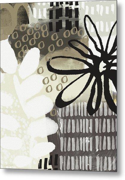 Autumn Walk- Art By Linda Woods Metal Print