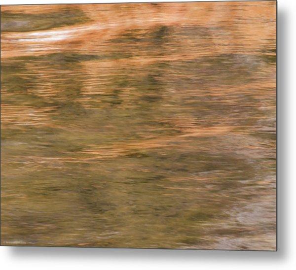 Metal Print featuring the photograph Autumn Water by Britt Runyon
