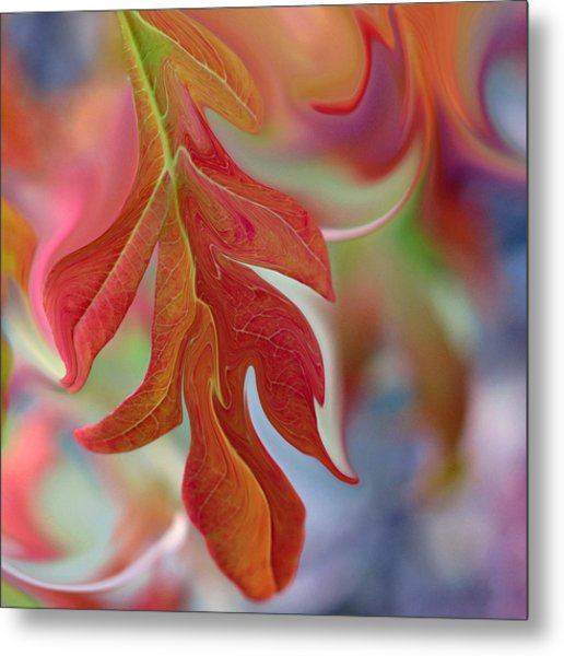 Autumnal Aria Metal Print by Suzy Freeborg
