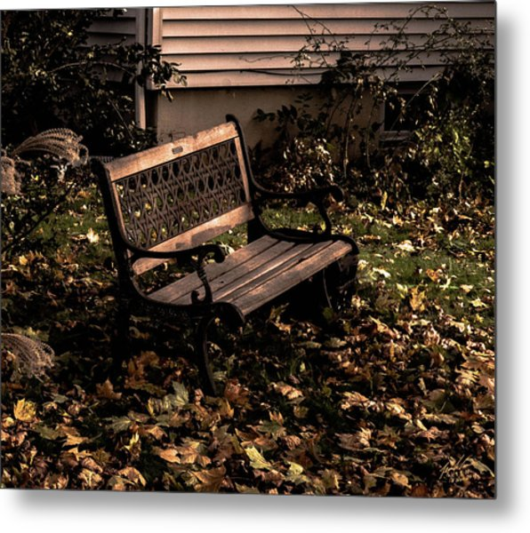 Autumnal Solace Metal Print