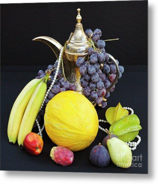 Symphony Of Forbidden Fruits Metal Print