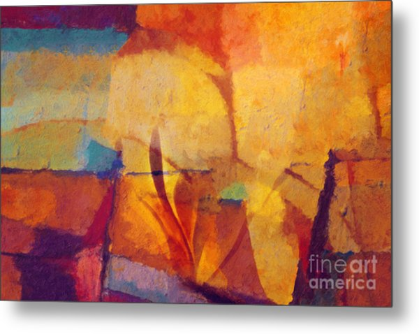 Autunno Stagione Metal Print