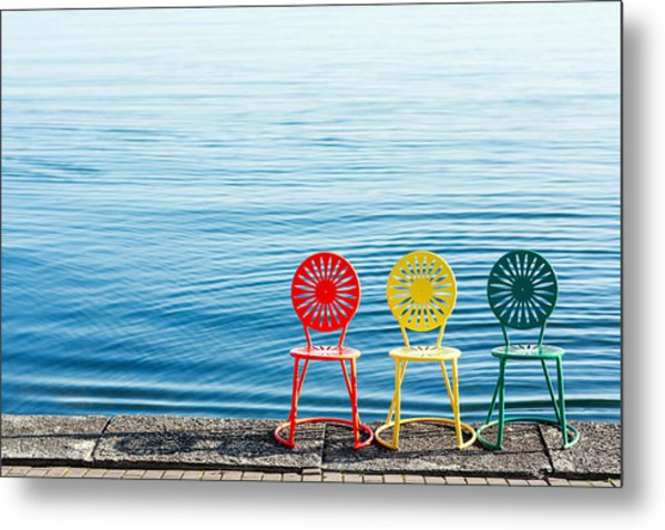Available Seats Metal Print