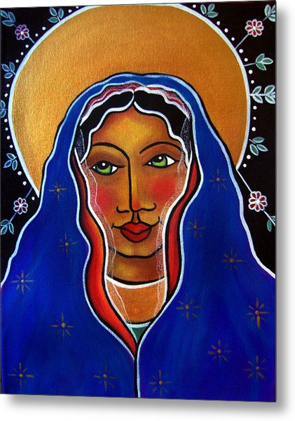 Metal Print featuring the painting Ave Maria by Jan Oliver-Schultz