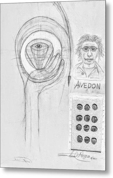 Avedon Master Of The Lens Metal Print
