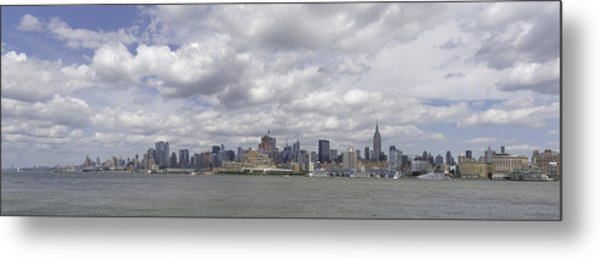 A View From New Jersey 1 Metal Print