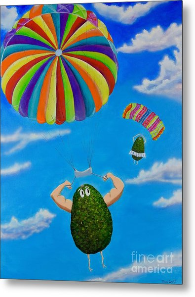 Avocado's From Heaven Metal Print