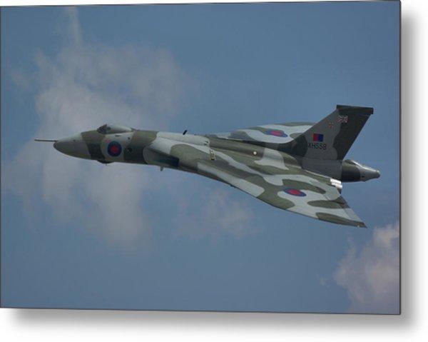 Avro Vulcan B2 Xh558 Metal Print
