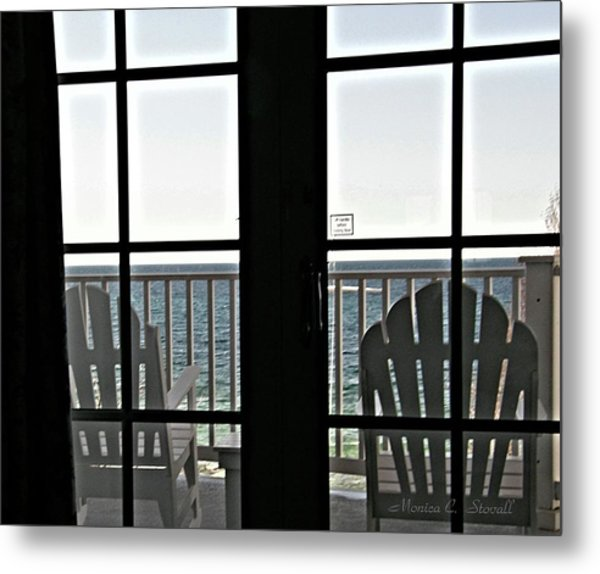 Awaiting Summer Warmth At Lake Michigan Metal Print