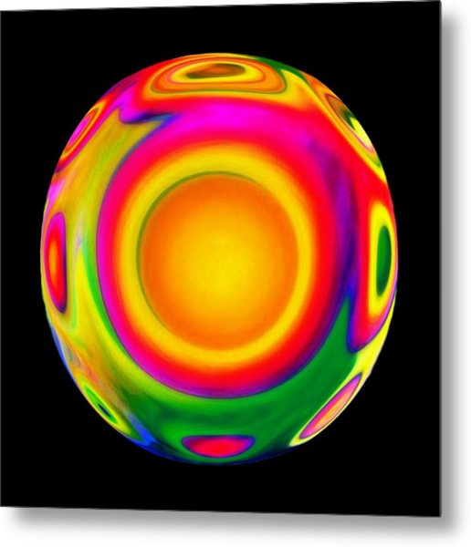 Awareness  Metal Print by Jacqueline Migell