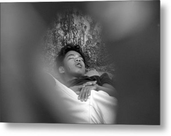 Away Into My Dreams And Hopes Metal Print by Jez C Self