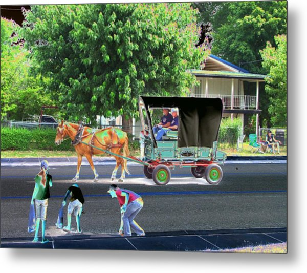 Awkward Moments Metal Print by Lee M Plate