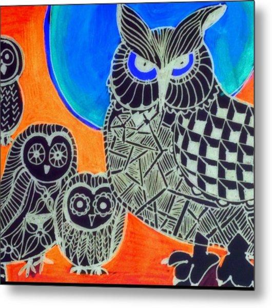 Awls Are Cool Metal Print