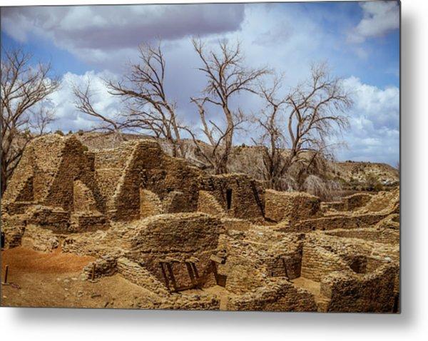 Aztec Ruins, New Mexico Metal Print
