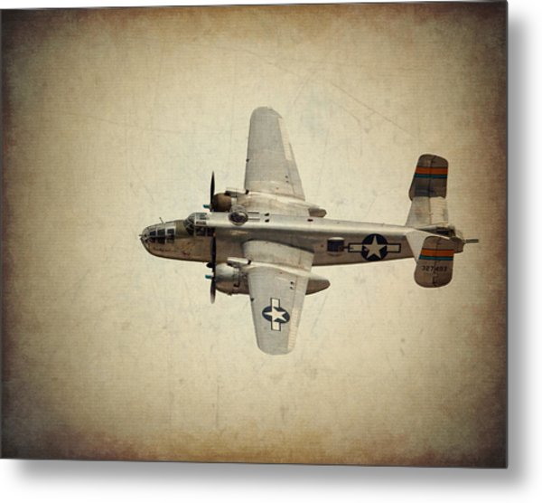 B-25j    Miss Mitchell Metal Print