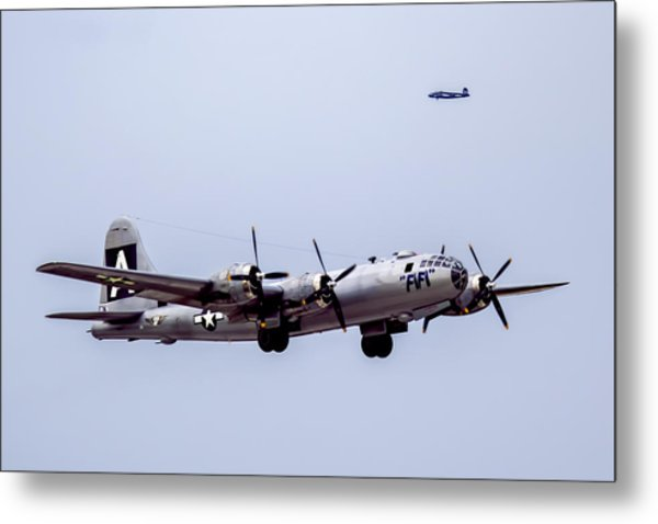 B-29 Superfortress Metal Print