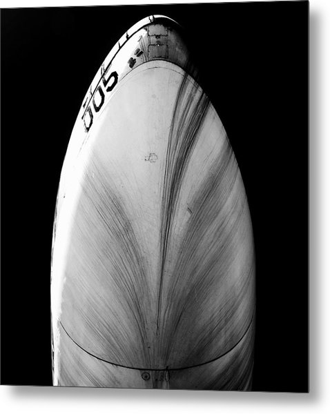 Metal Print featuring the photograph B52 Belly by Rand
