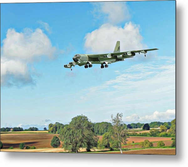 B52 Stratofortress -2 Metal Print