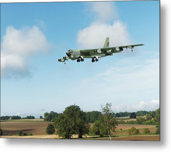 B52 Stratofortress Metal Print
