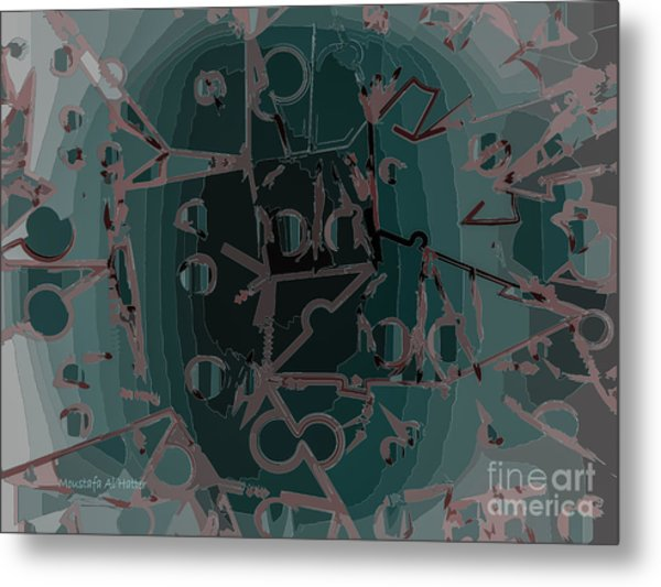 Babble Metal Print