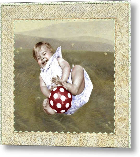 Baby Ball Metal Print