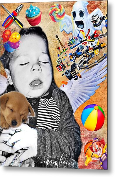 Baby Dreams Metal Print