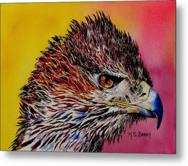 Baby Eagle Metal Print by Maria Barry
