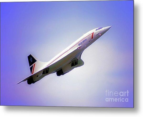 Bac Concorde  Metal Print