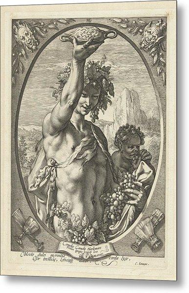 Bacchus God Of Ectasy Metal Print