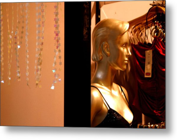 Back Against The Wall Metal Print by Jez C Self