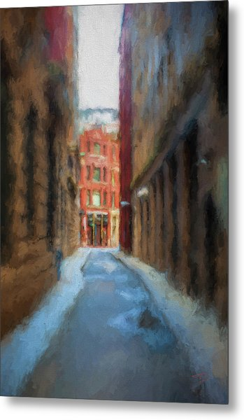 Back Bay Boston Metal Print