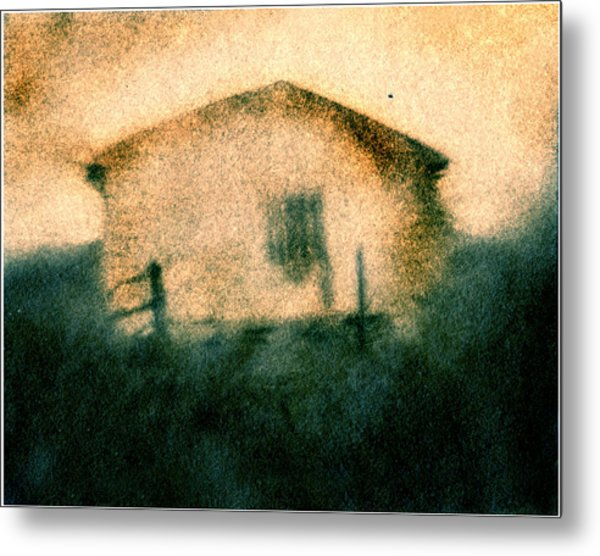 Back Of Ther Back Metal Print by Diana Ludwig