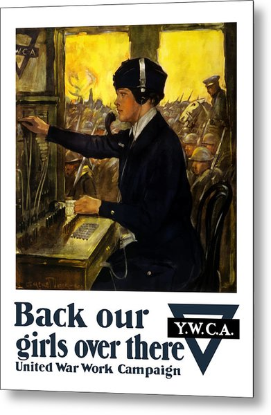 Back Our Girls Over There Metal Print