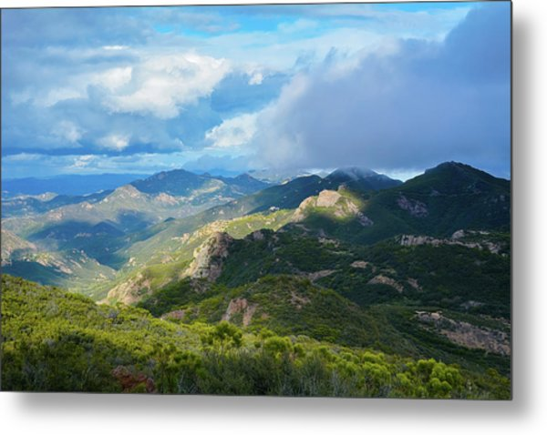 Backbone Trail Santa Monica Mountains Metal Print