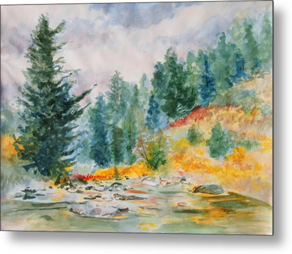 Afternoon In The Backcountry Metal Print