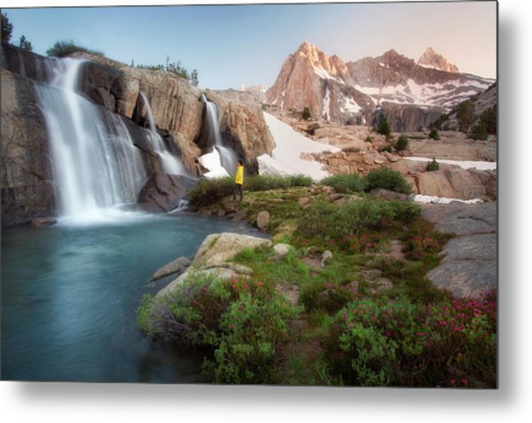 Backcountry Views Metal Print